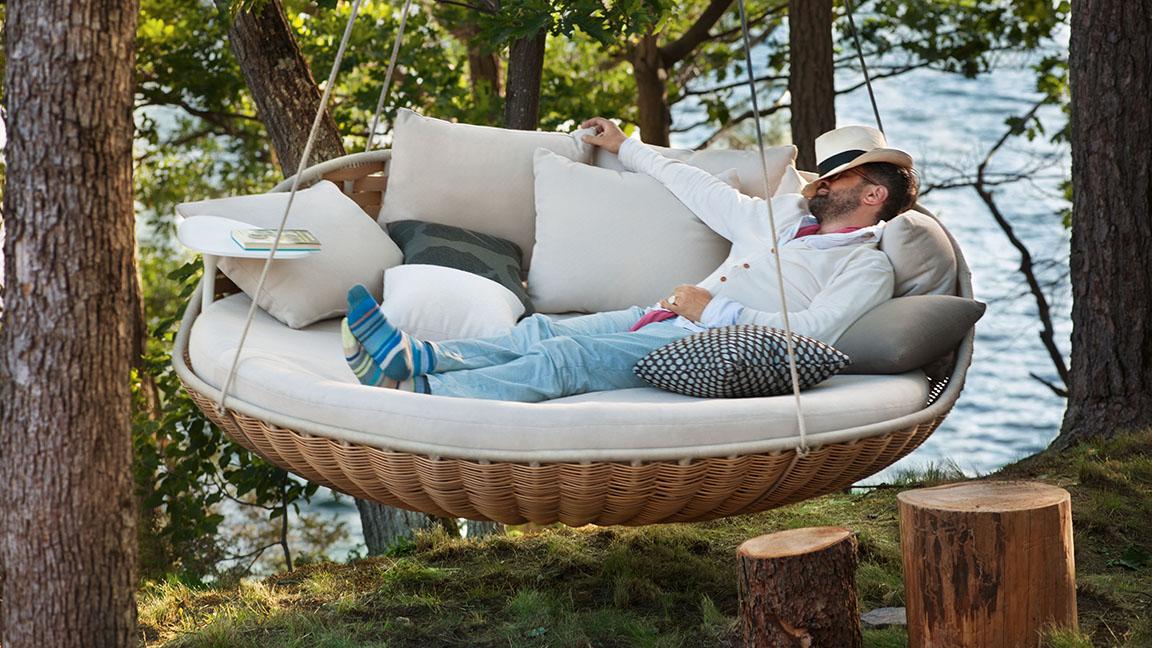 dedon r ckenkissen f r swingrest 2er sofa vom swimmingpool fachh ndler. Black Bedroom Furniture Sets. Home Design Ideas