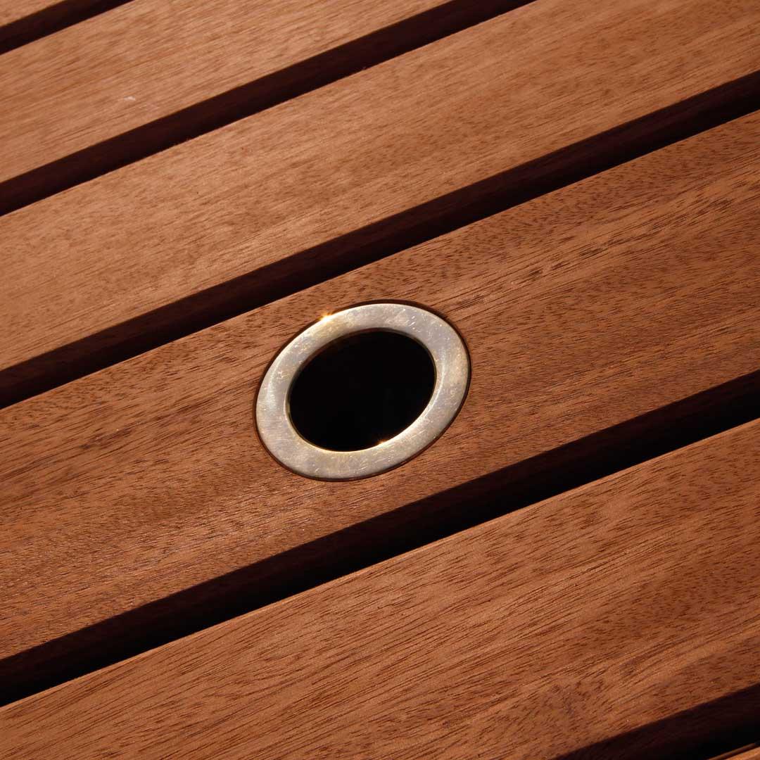 gartentisch alexander rose cornis klapptisch 8 eckig. Black Bedroom Furniture Sets. Home Design Ideas