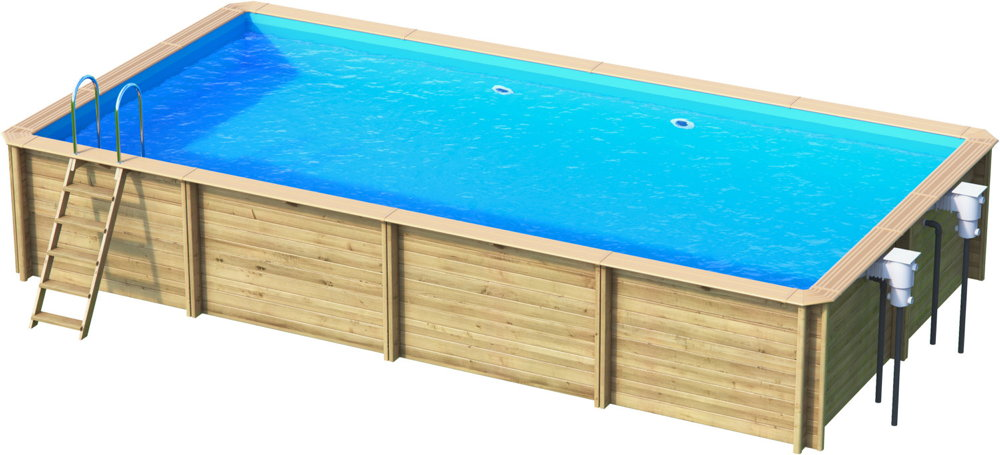 holzpool rocta6x3 schwimmbecken blockbohlen bausatz swimmingpool gartenpool vom swimmingpool. Black Bedroom Furniture Sets. Home Design Ideas