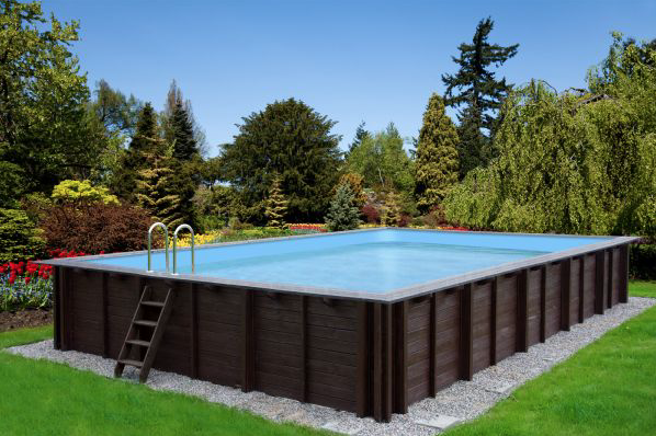 holzpool 8x5m mega schwimmbecken blockbohlen bausatz swimmingpool gartenpool vom swimmingpool. Black Bedroom Furniture Sets. Home Design Ideas