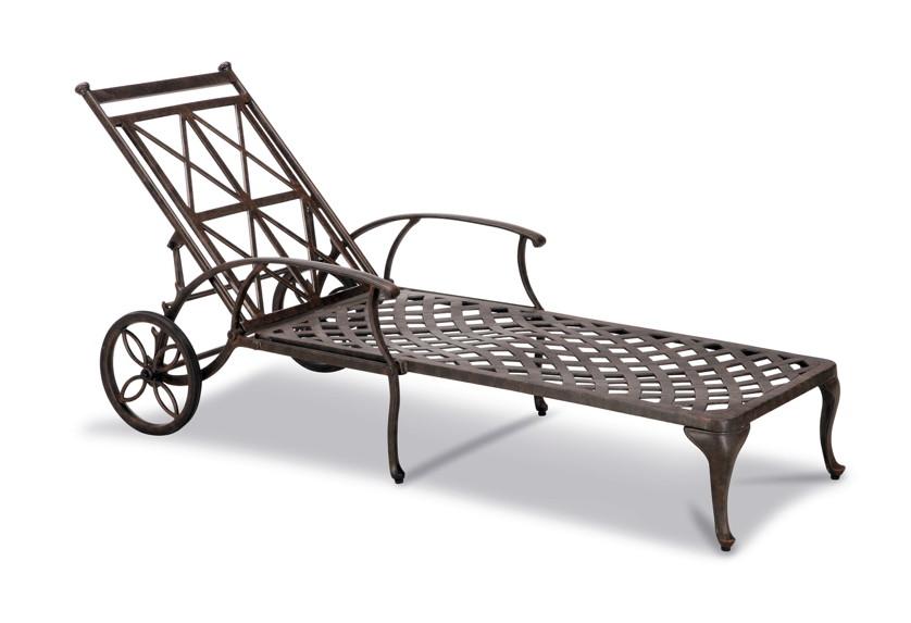 gartenliege best antigua rollliege aluminiumguss liege mit rollen kaufen im holz. Black Bedroom Furniture Sets. Home Design Ideas