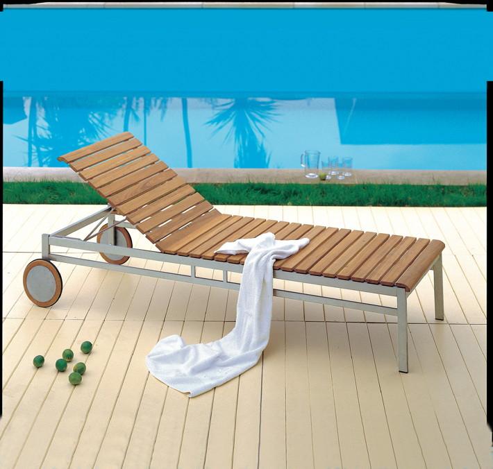 gartenliege alu mit rollen design. Black Bedroom Furniture Sets. Home Design Ideas