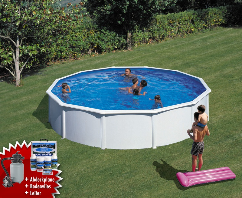 Favorit garten pool 3m wj24 kyushucon for Pool rund 3m