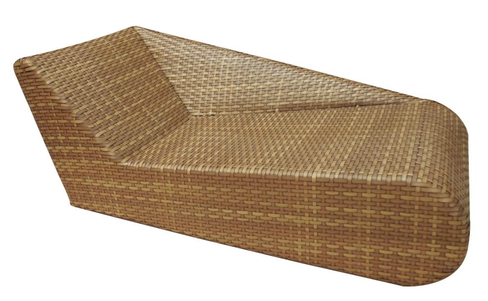 Mbm living liege links relax lounge aluminium kaufen im for Stahlwandbecken holzoptik