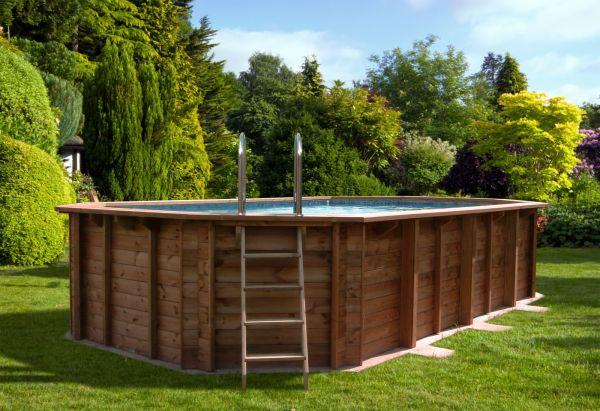 swimmingpools für den garten - kaufen im holz-haus.de online-shop, Garten und Bauen
