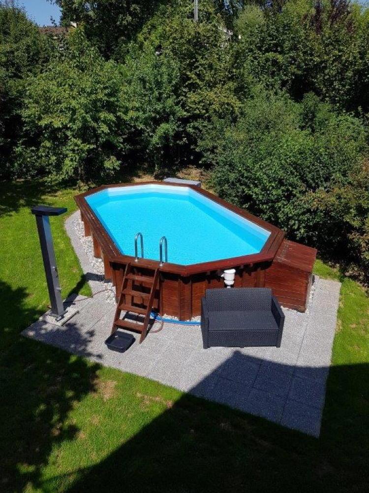 Swimmingpool pflege und tipps for Ovaler pool garten