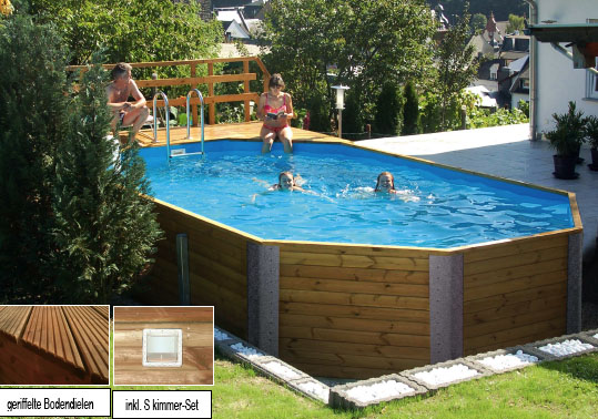 Podest f r pool m bel und heimat design inspiration for Garten pool korfu 1