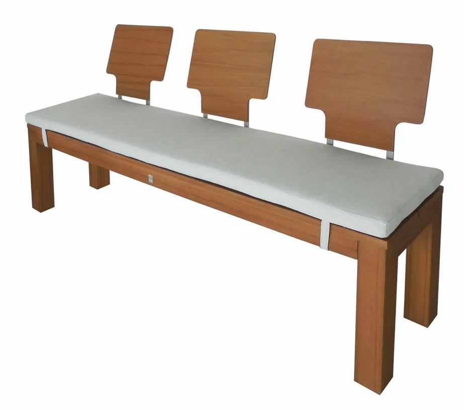 auflage mbm la villa sitzkissen f r 3er bank kaufen im holz online shop. Black Bedroom Furniture Sets. Home Design Ideas