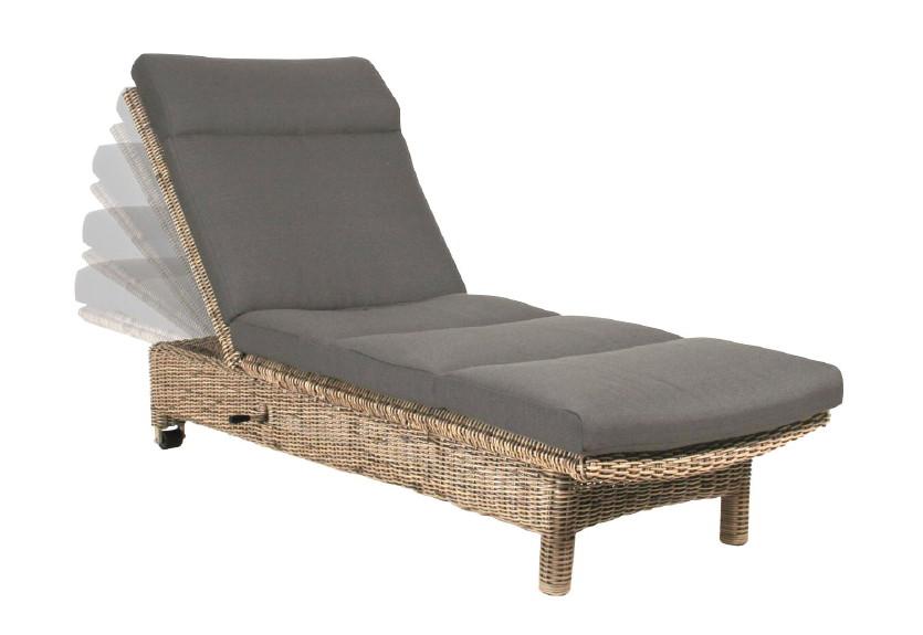 gartenliege wales pure sonnenliege korbliege geflecht. Black Bedroom Furniture Sets. Home Design Ideas