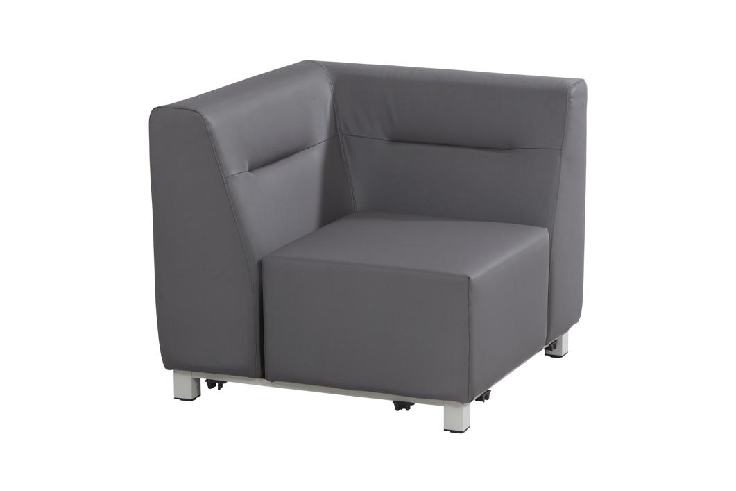 Gartenstuhl 4seasons chivas eckement loungemodul for Stahlwandbecken holzoptik