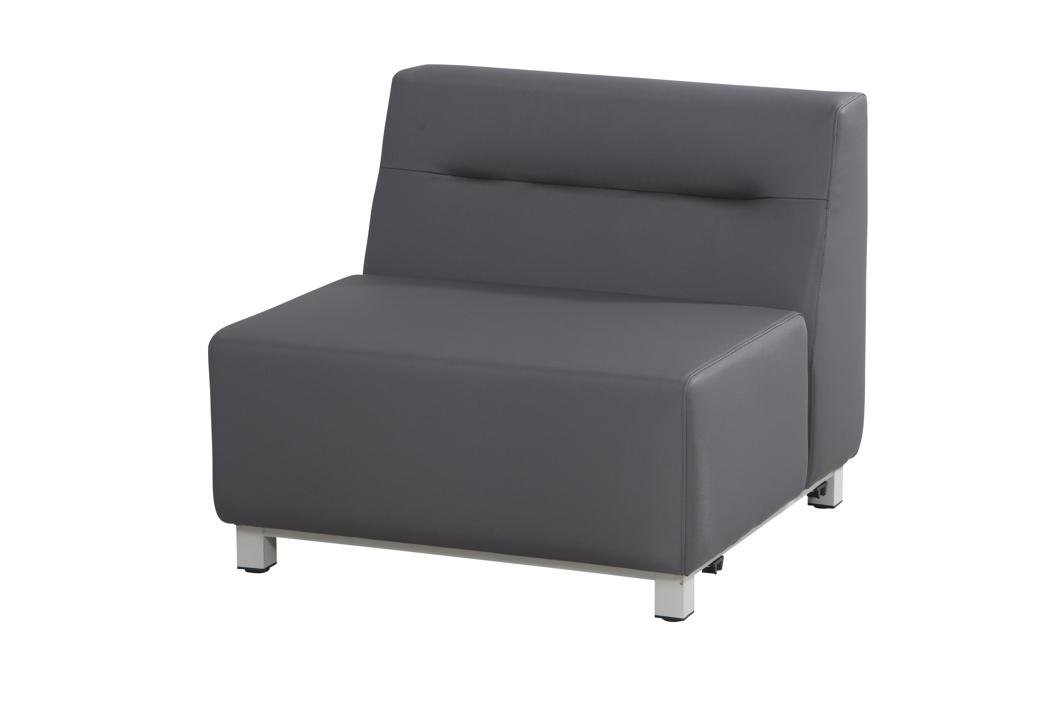 Gartenstuhl 4seasons chivas mittelement loungemodul for Stahlwandbecken holzoptik