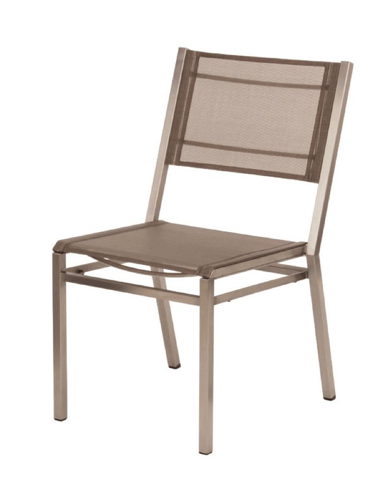 Gartenstuhl Barlow Tyrie Equinox Stuhl Titanium Stapelstuhl