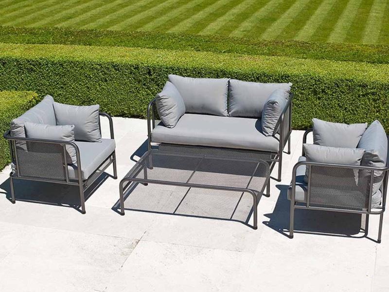 gartenbank alexander rose portofino lounge 2er sofa loungesofa vom swimmingpool fachh ndler. Black Bedroom Furniture Sets. Home Design Ideas