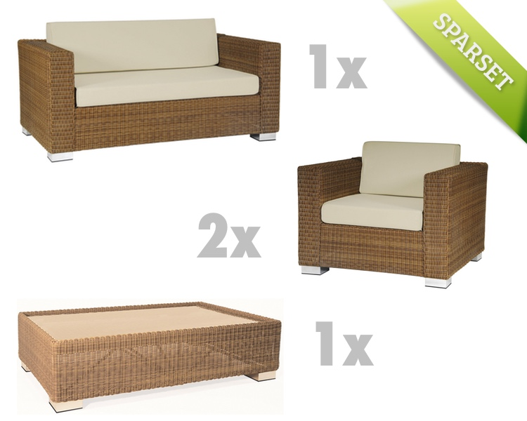 gartenbank alexander rose san marino 2er sofa. Black Bedroom Furniture Sets. Home Design Ideas