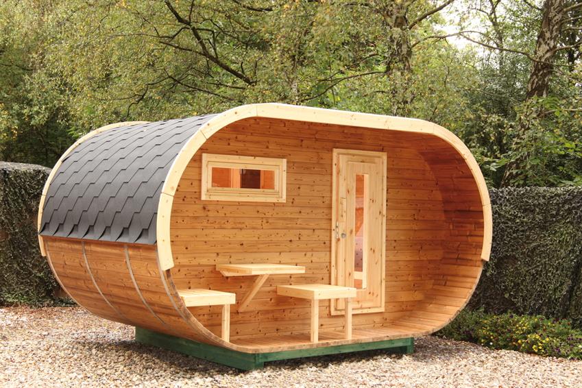 Superior Saunahäuser Für Das Outdoor Saunavergnügen Im Garten