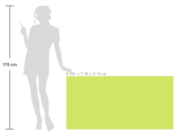 gartentisch fischer nizza esstisch 150x95 anthrazit aluminium laminat vom swimmingpool. Black Bedroom Furniture Sets. Home Design Ideas