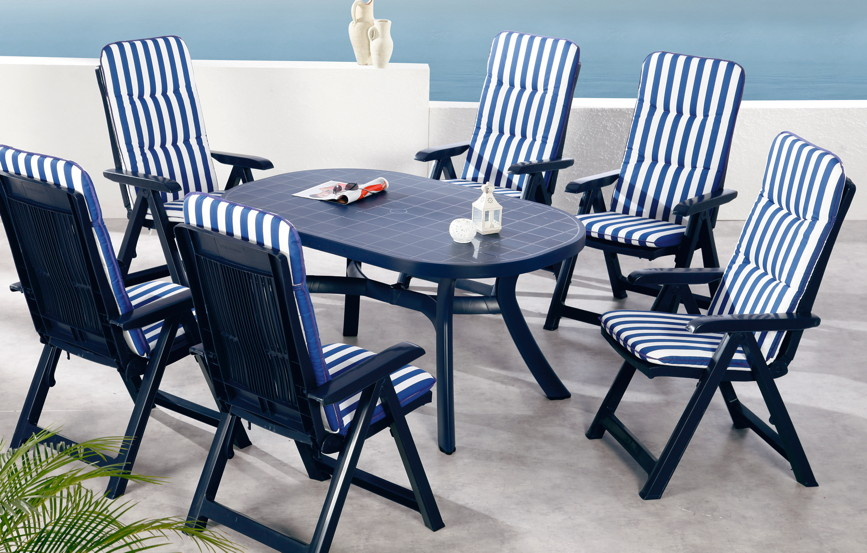 gartenm bel plastik blau my blog. Black Bedroom Furniture Sets. Home Design Ideas