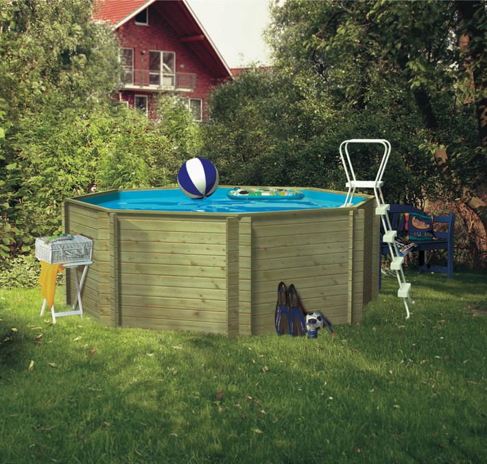 holzpool karibu lilliput 2 schwimmbecken aus holz. Black Bedroom Furniture Sets. Home Design Ideas