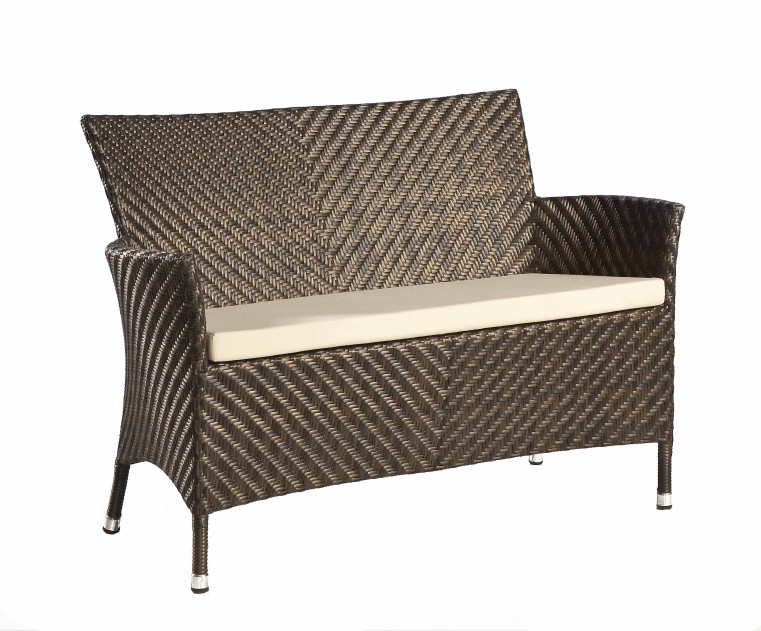 gartenbank alexander rose ocean wave 2er sofa rattan korbsessel vom swimmingpool fachh ndler. Black Bedroom Furniture Sets. Home Design Ideas