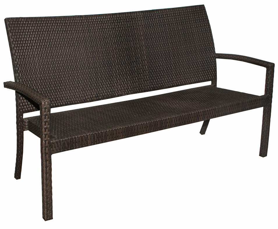 gartenbank rattan mbm bellini bank rattan geflecht bank. Black Bedroom Furniture Sets. Home Design Ideas