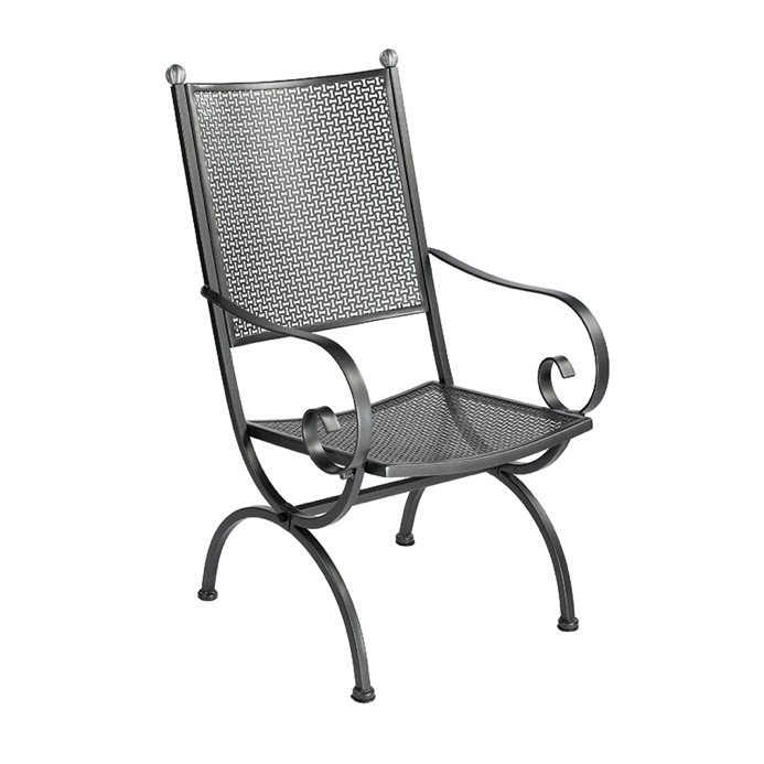 Gartenstuhl MBM «Rosanna Elegance» Sessel mit hoher ...