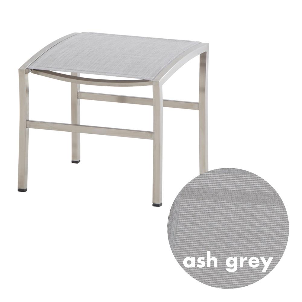 hocker 4season nexxt fu auflage ash grey edelstahl textilene vom swimmingpool fachh ndler. Black Bedroom Furniture Sets. Home Design Ideas